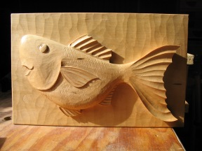 oc fish high relief