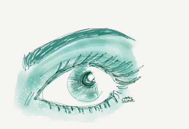 Emma eye sketch