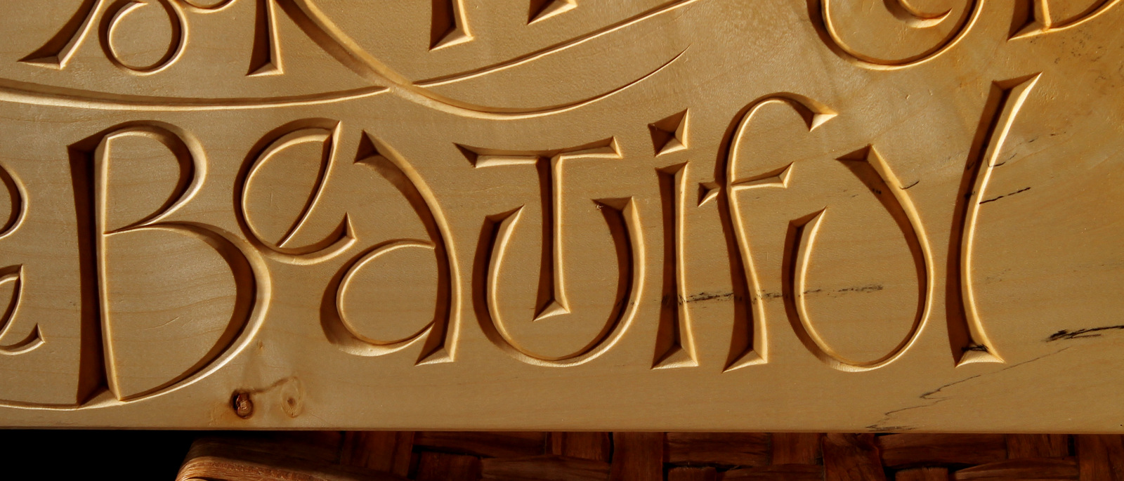 Learning From Lettering David Fisher Carving Explorations